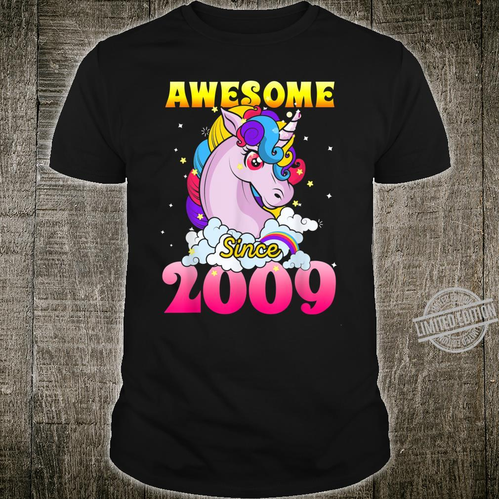 11th Birthday 11 Years Old Dabbing Unicorn Party For Girl Shirt