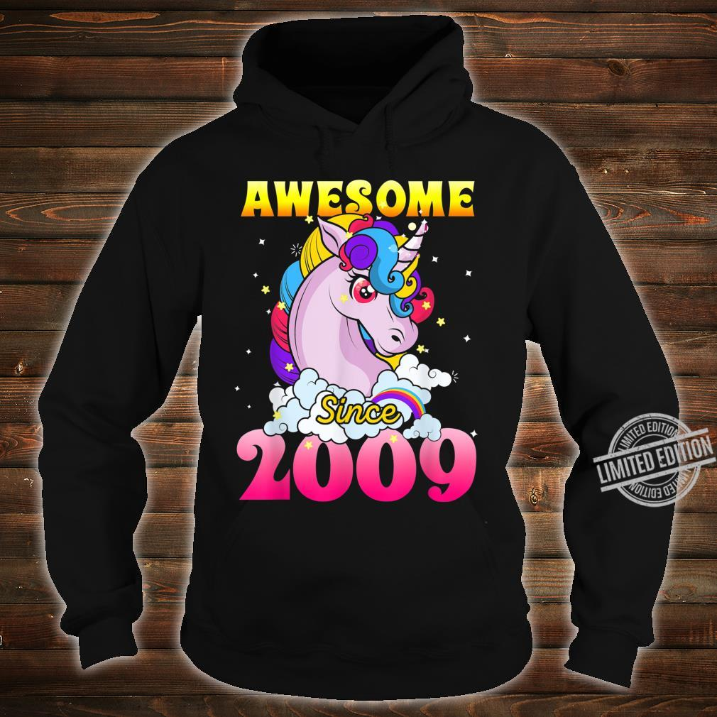 11th Birthday 11 Years Old Dabbing Unicorn Party For Girl Shirt hoodie