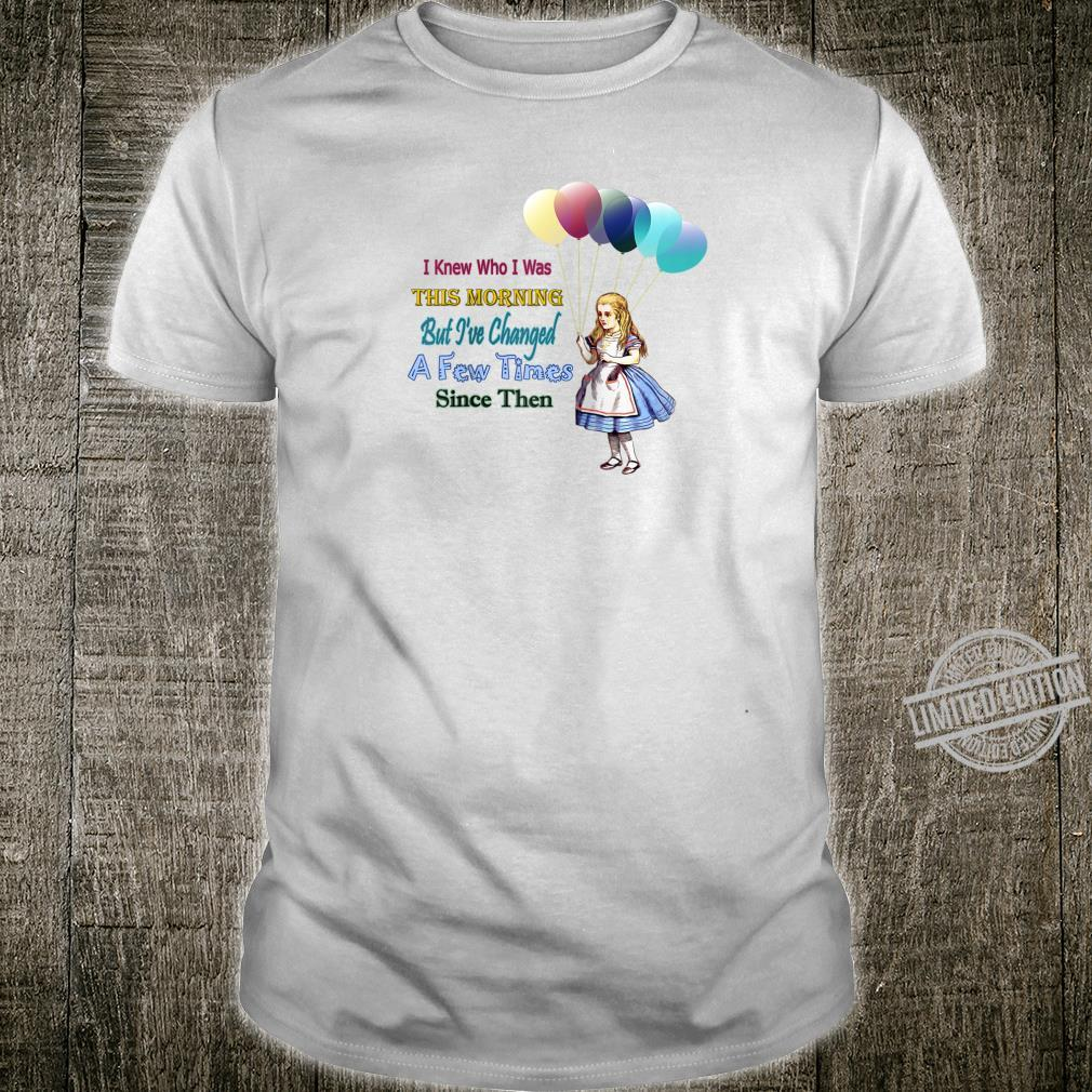 Alice In Wonderland Quote Celebration Shirt