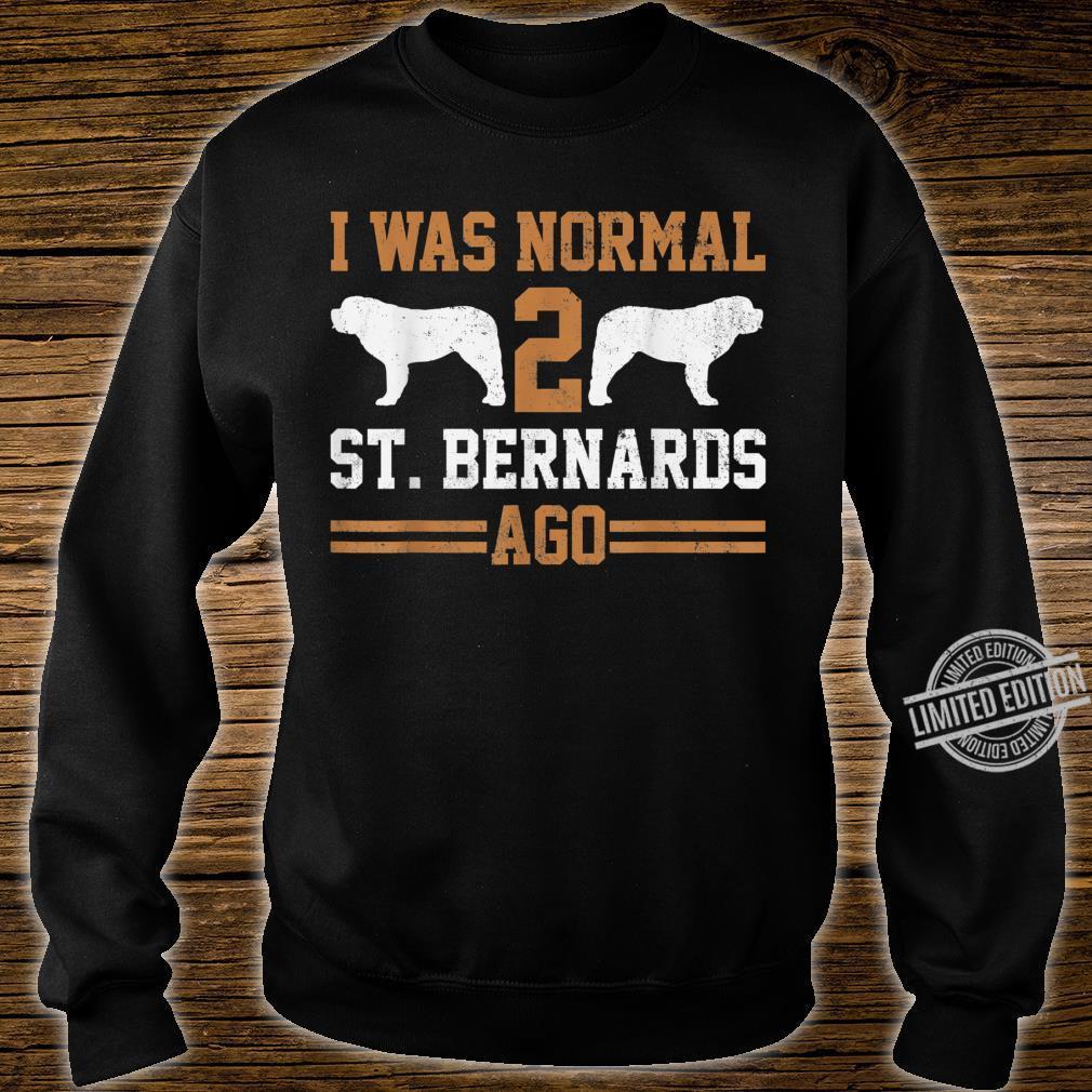 Bernhardiner Zwei Hunde Shirt sweater