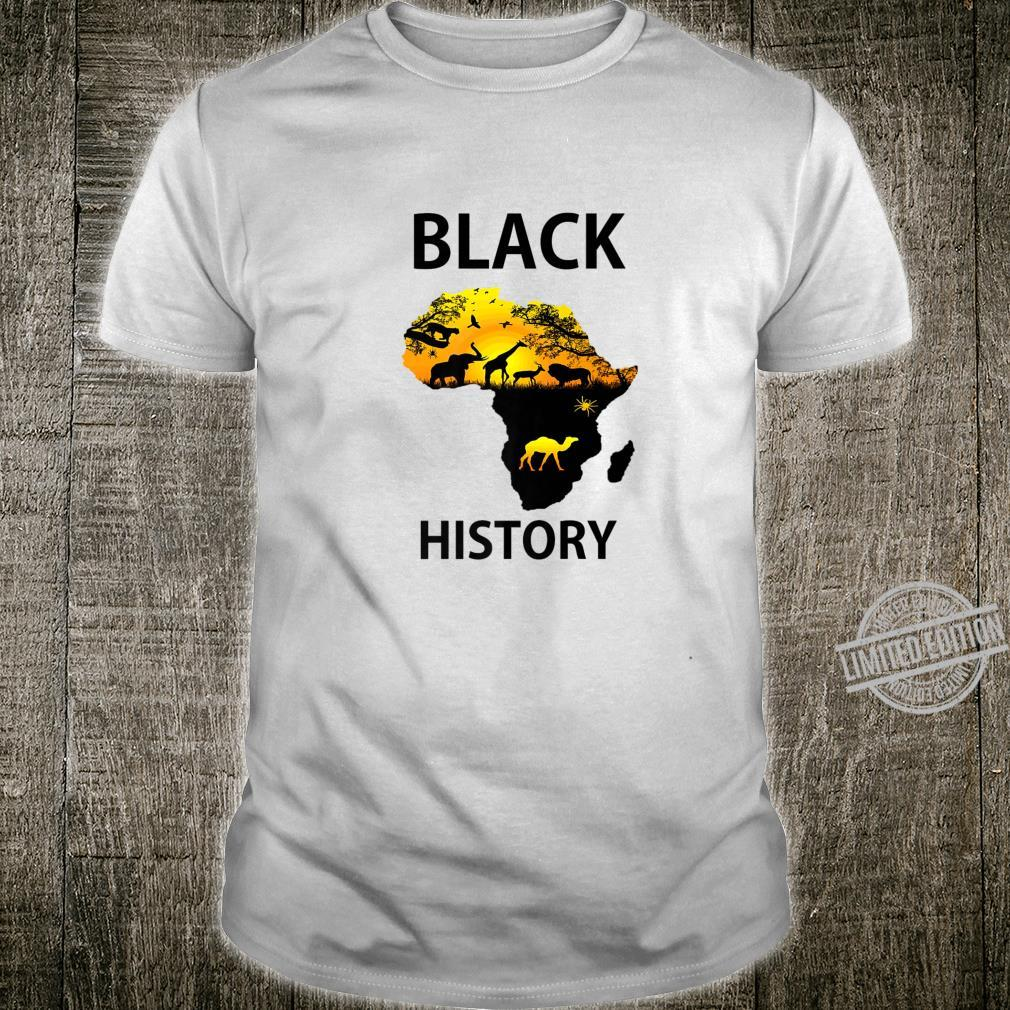 Black History Apparel And Phone Grip Shirt