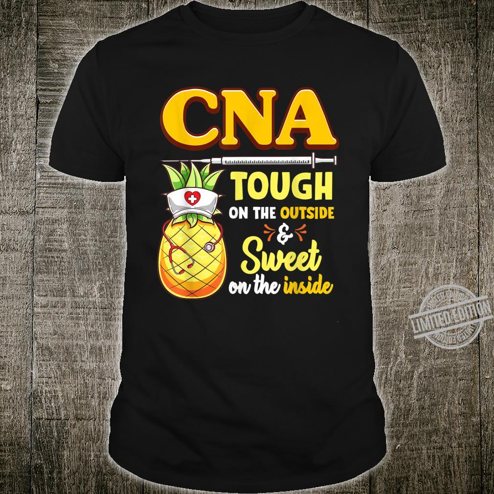 CNA Nurse Practitioner Pineapple Shirt