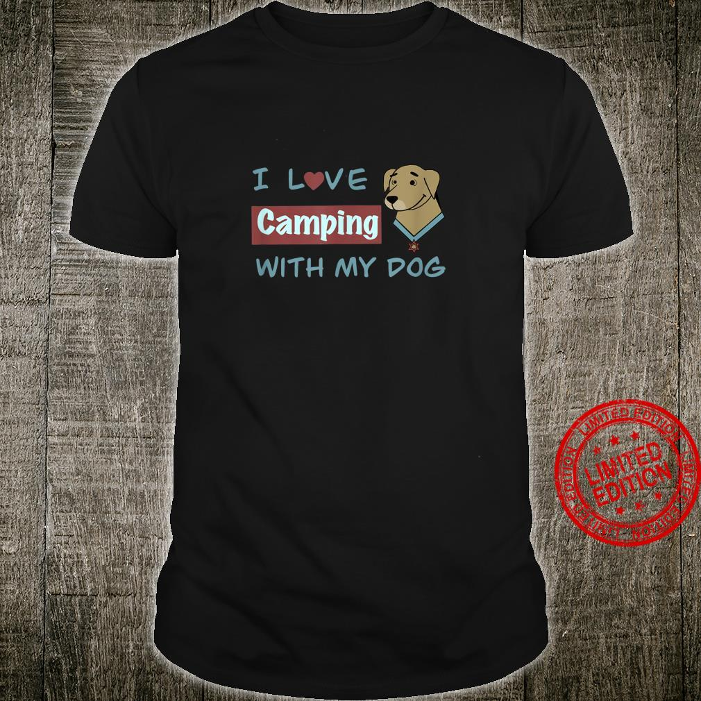 Camping With Dog Casual Everyday Shirt