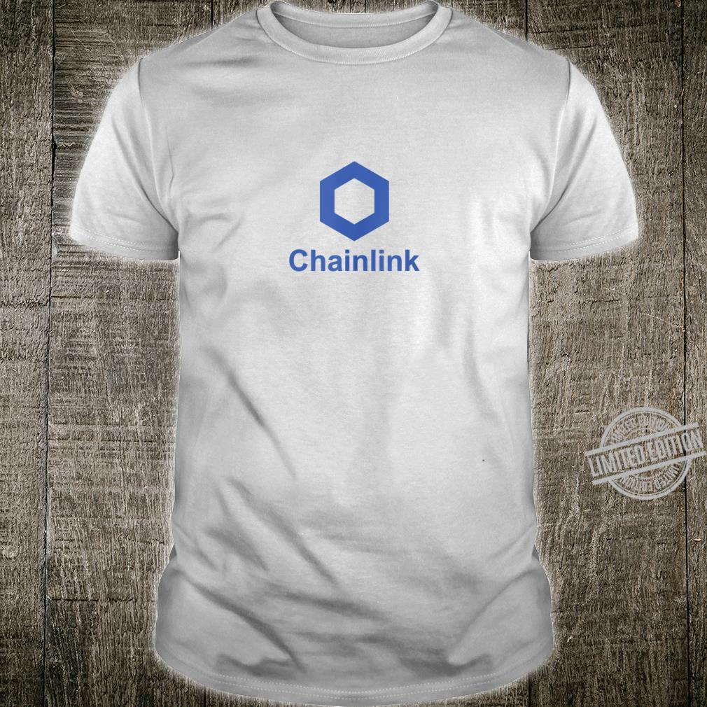 Chainlink Link Blockchain Cryptocurrency Crypto Coin Shirt