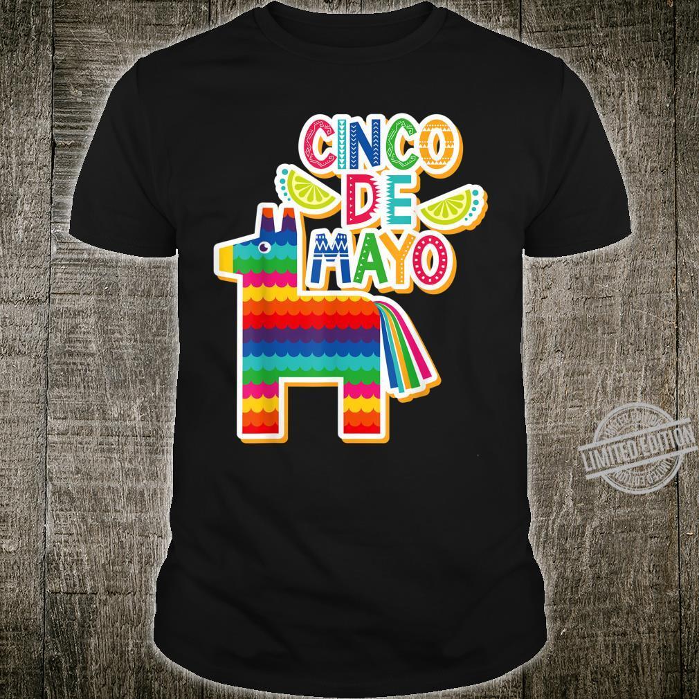 Cinco De Mayo Pinata Viva Mexico Fiesta Party Shirt