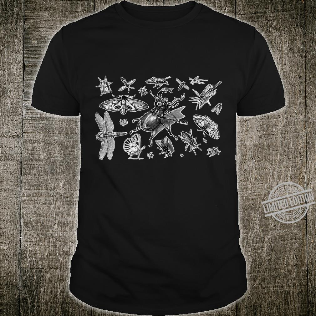 Collection Of Insects Bug Beetle Bee Entomology Teacher Shirt