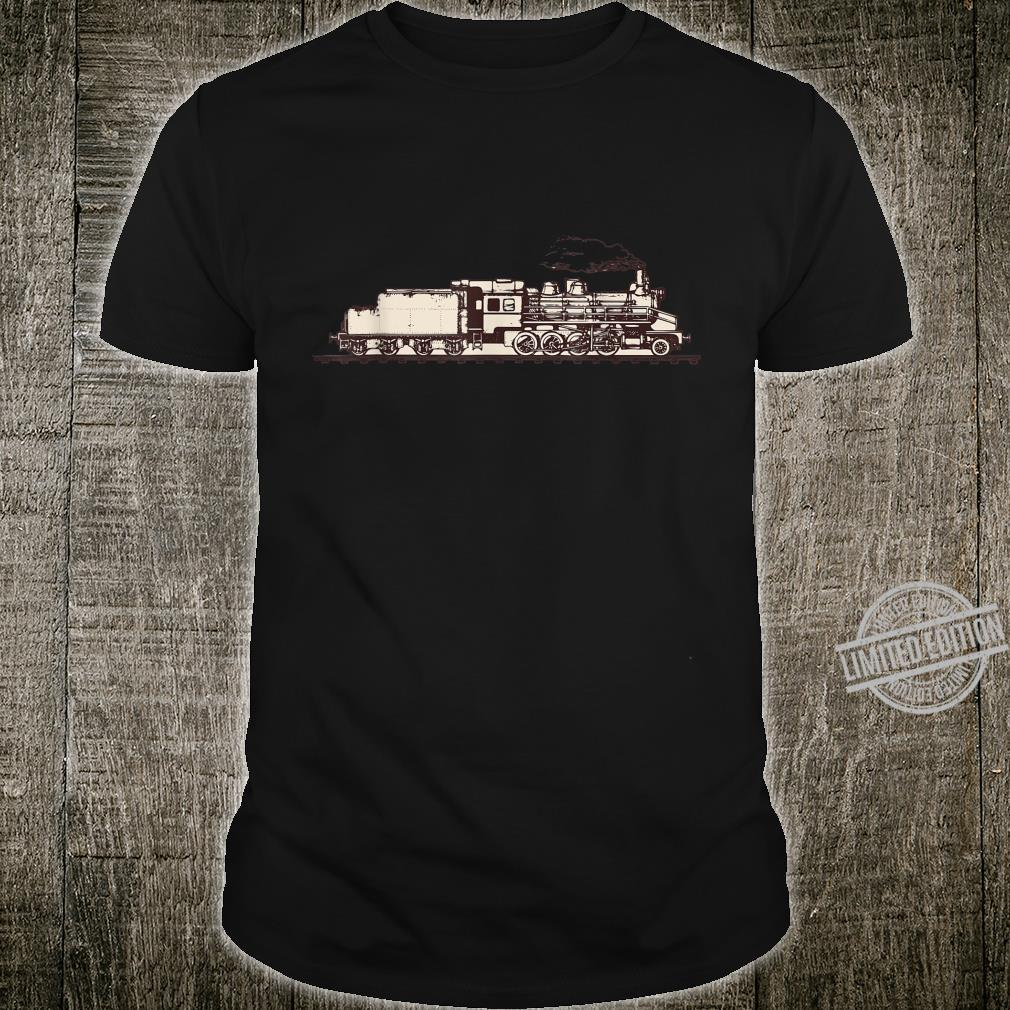 Cool Steam Train Railway Locomotive Shirt