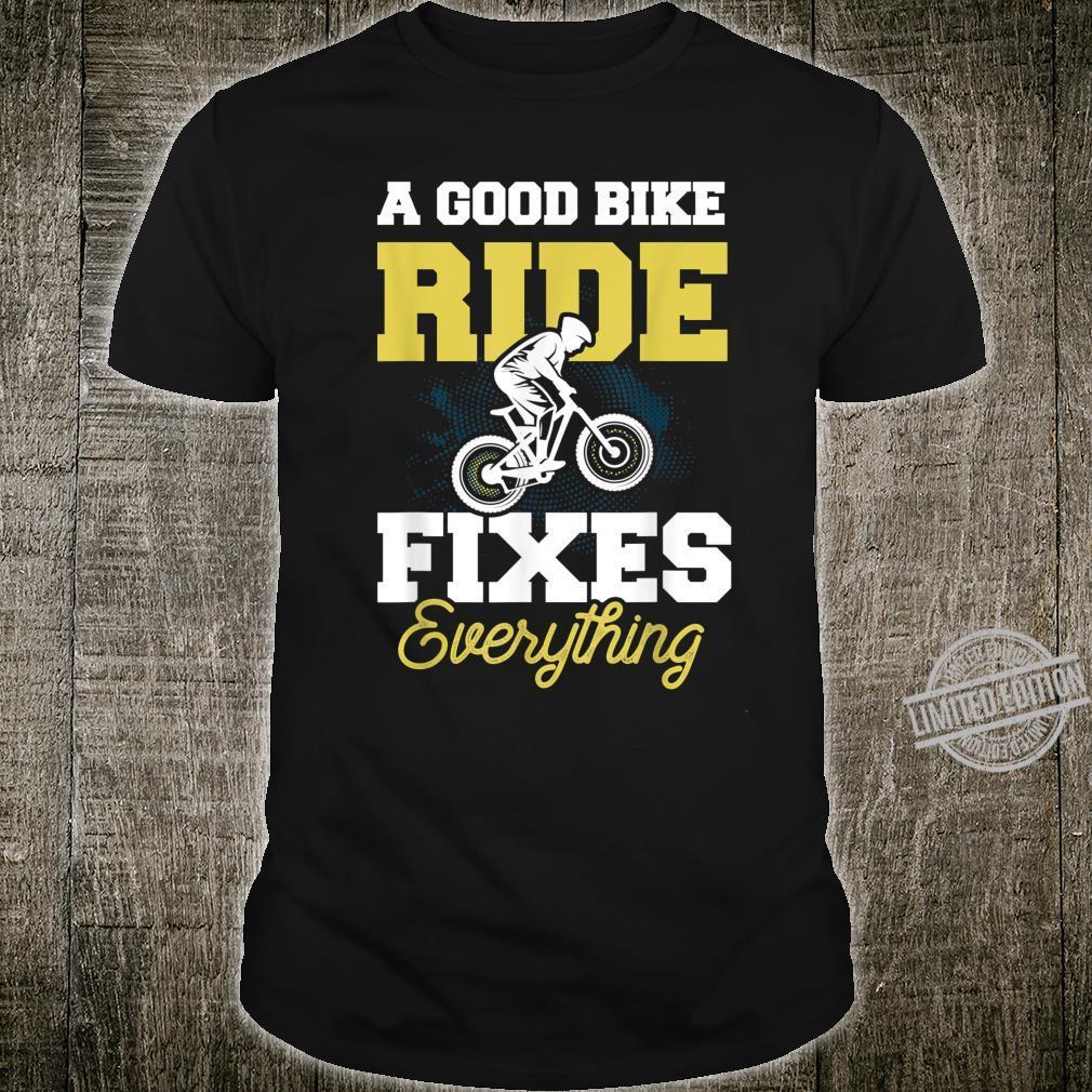 Cooles Fahrrad Shirt Mountainbike Radsport Geschenk Shirt