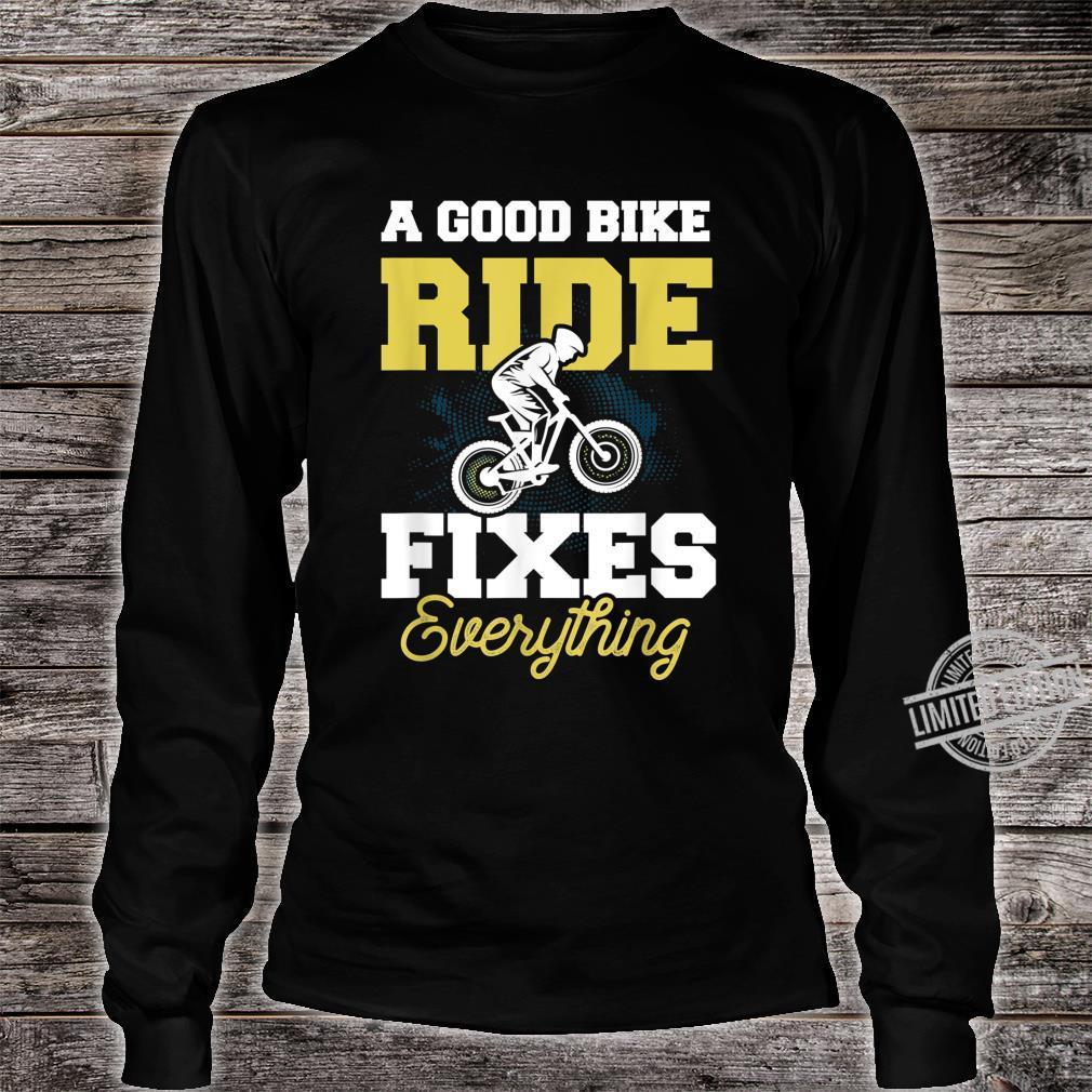 Cooles Fahrrad Shirt Mountainbike Radsport Geschenk Shirt long sleeved