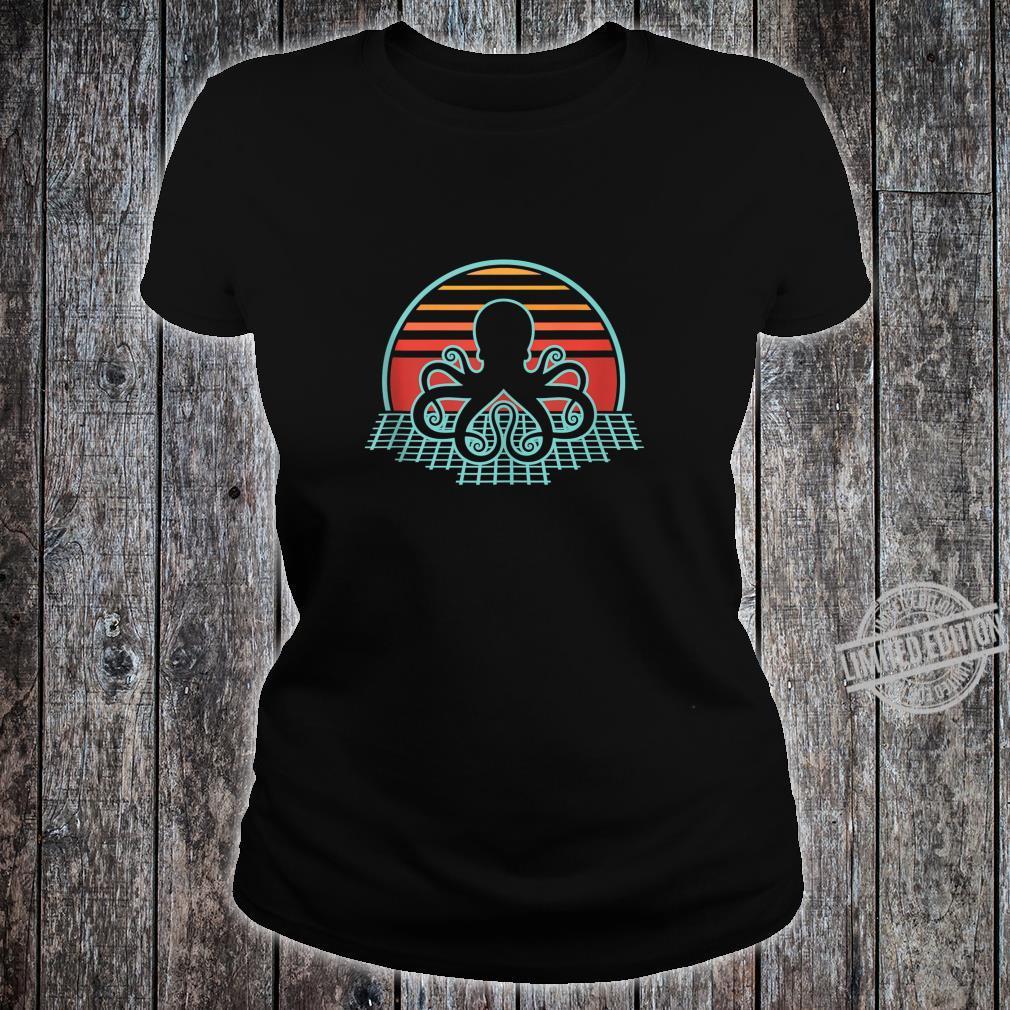 Cthulhu Retro Vintage Design Shirt ladies tee