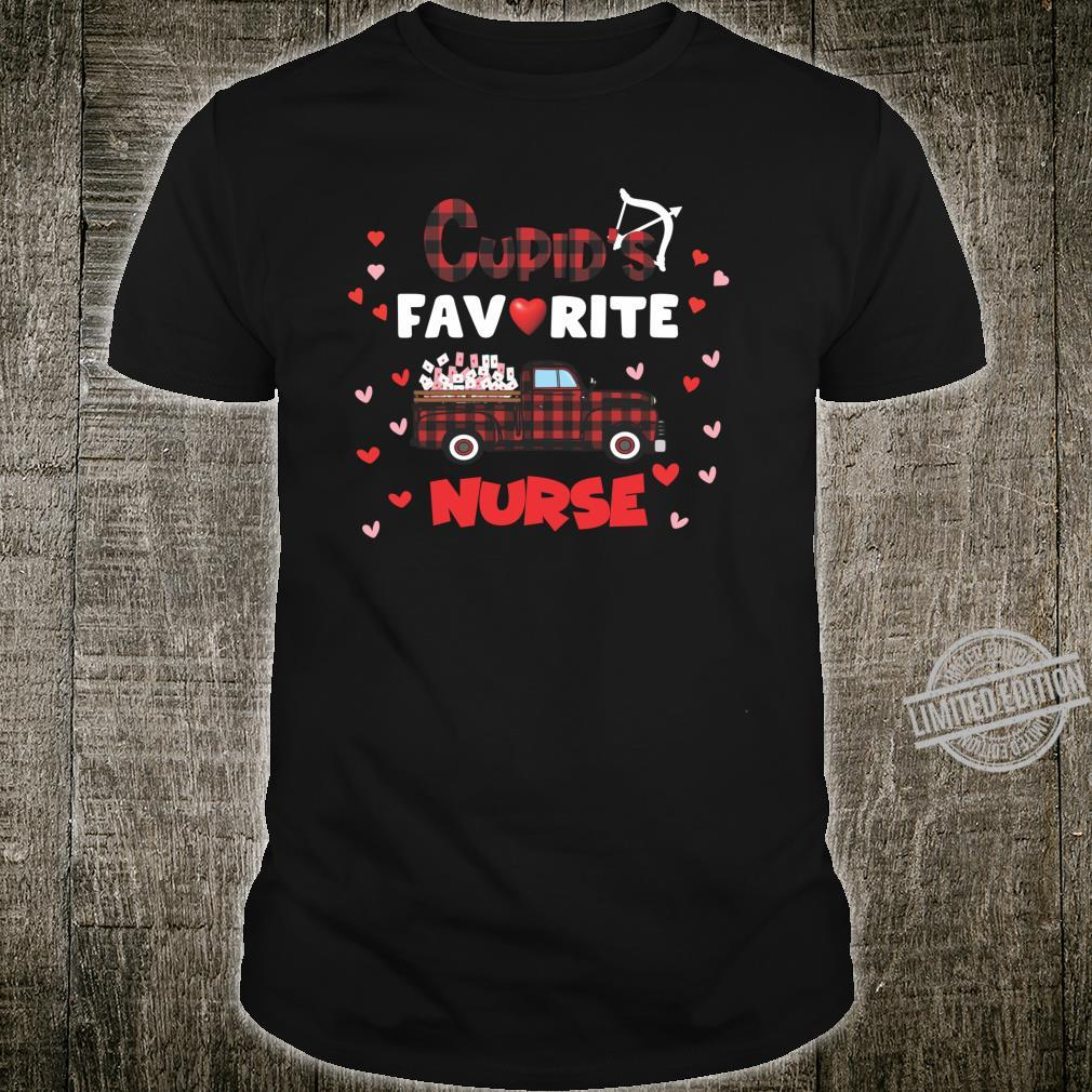 Cupids Favorite Nurse Shirt