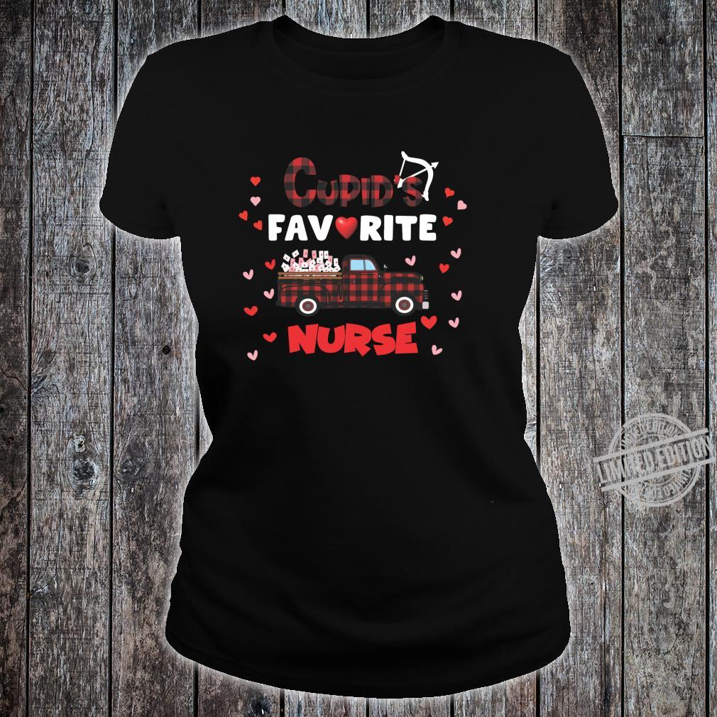 Cupids Favorite Nurse Shirt ladies tee