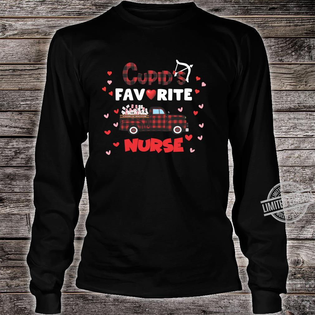 Cupids Favorite Nurse Shirt long sleeved