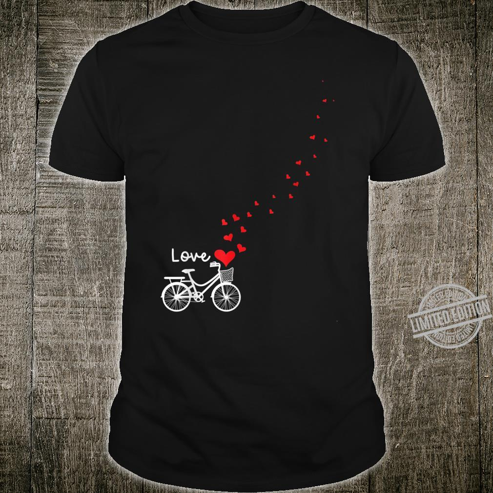 Cute Bicycle Love Sweetest Day Valentines Day Shirt