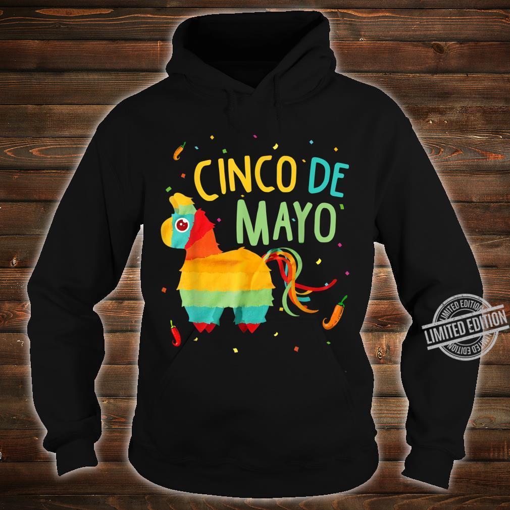 Cute Pinata Cinco De Mayo Sombrero Mexican Costume Shirt hoodie