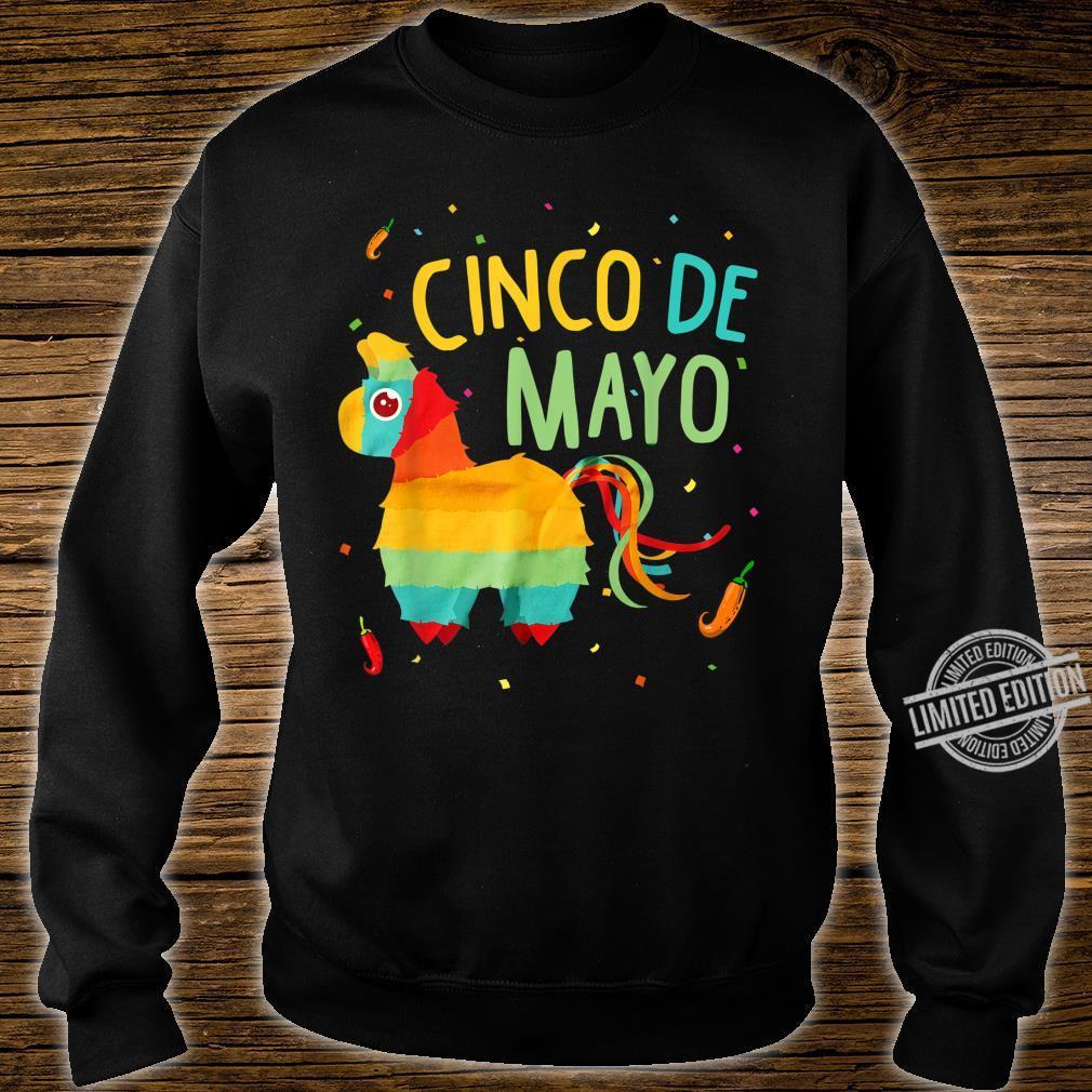 Cute Pinata Cinco De Mayo Sombrero Mexican Costume Shirt sweater