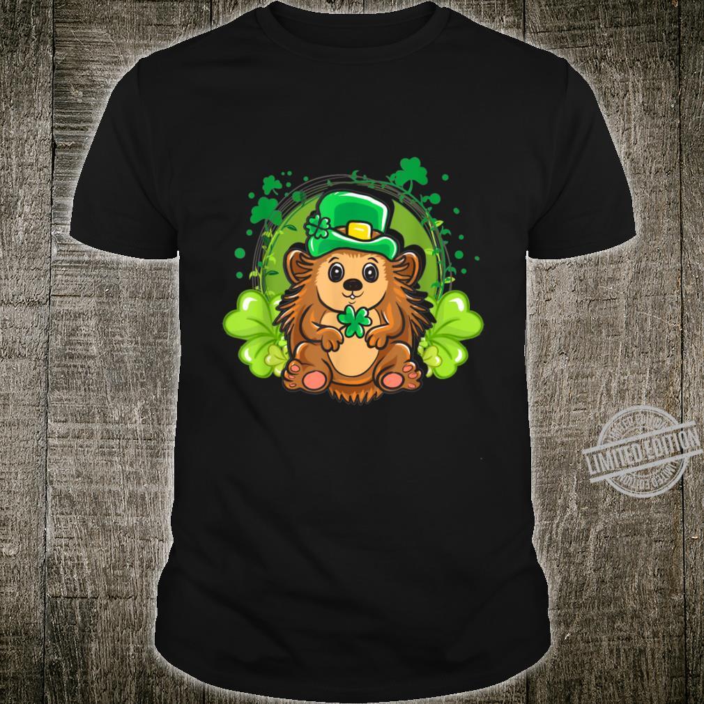 Cute Shamrocks Hedgehog St. Patrick's Day Shirt