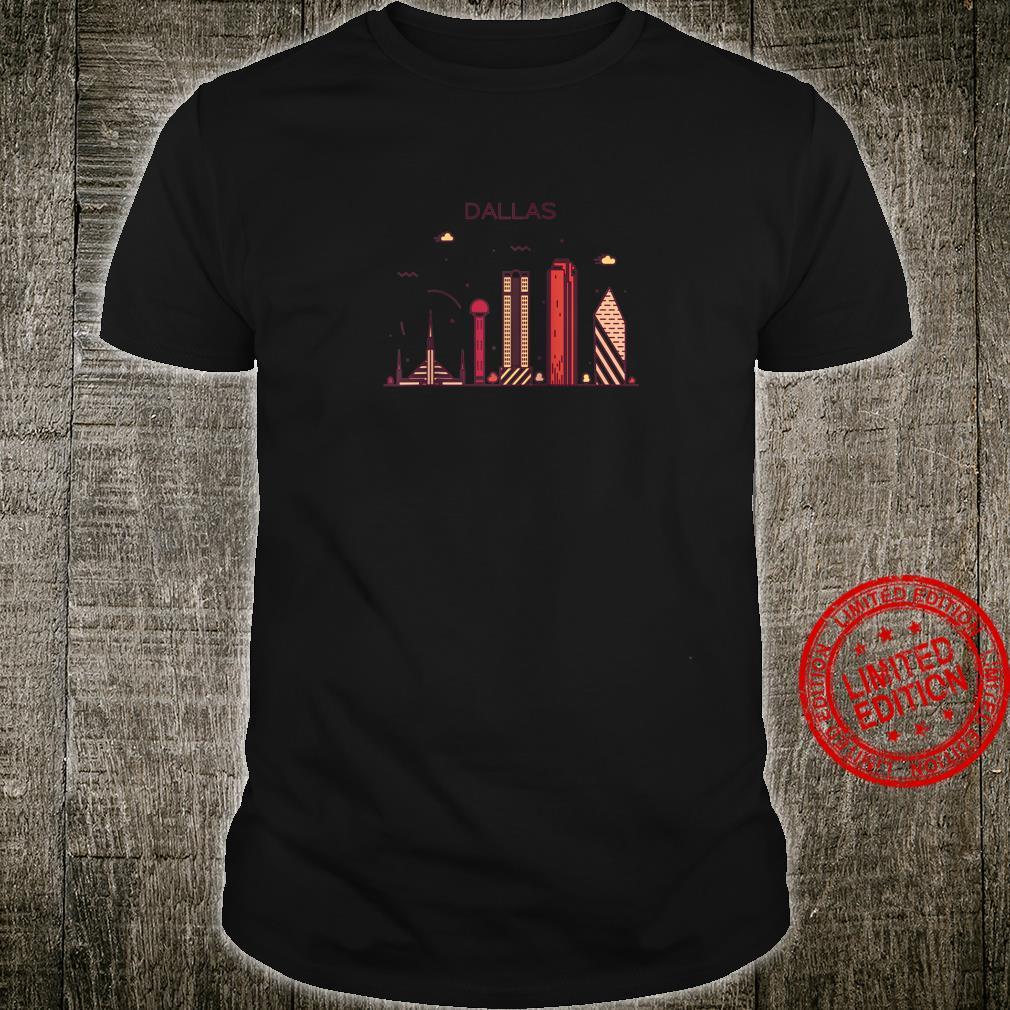 DALLAS Home State Shirt I Love DALLAS Vintage Tee Shirt