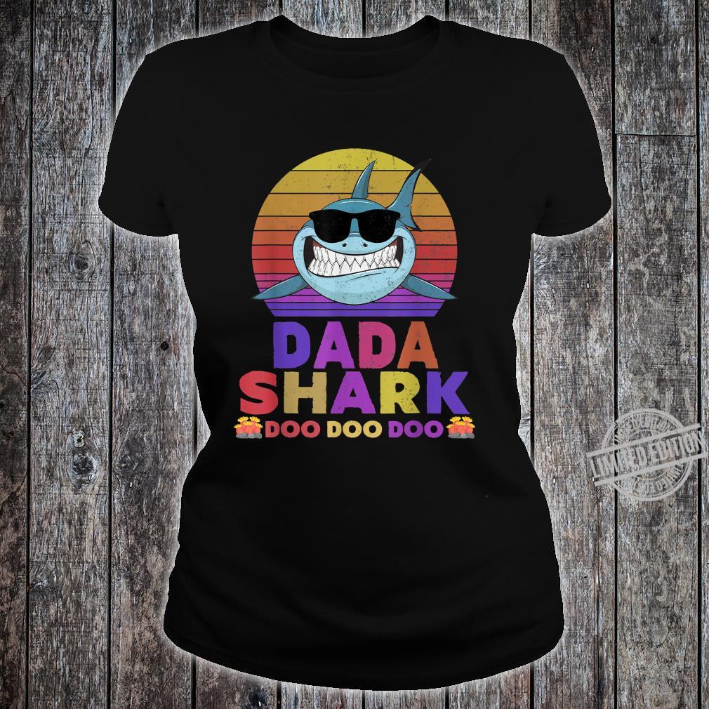 Dada Shark Doo Doo Doo Shirt ladies tee