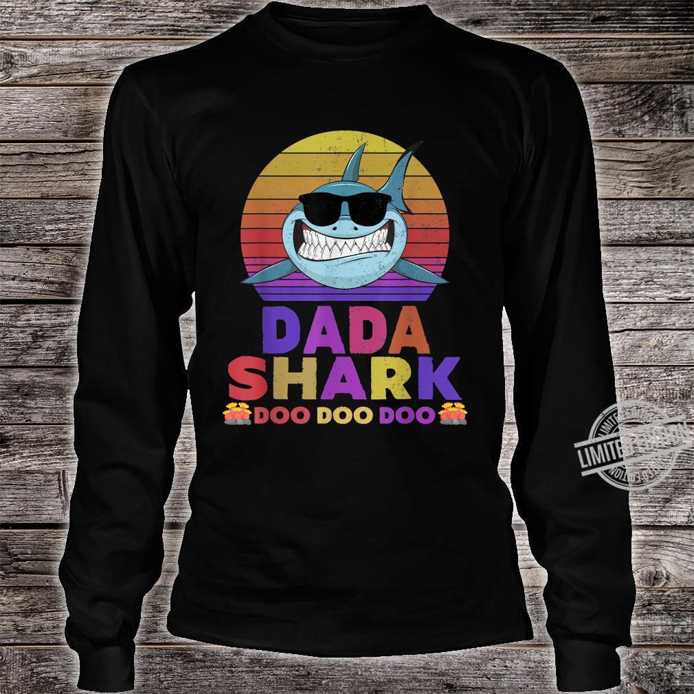 Dada Shark Doo Doo Doo Shirt long sleeved