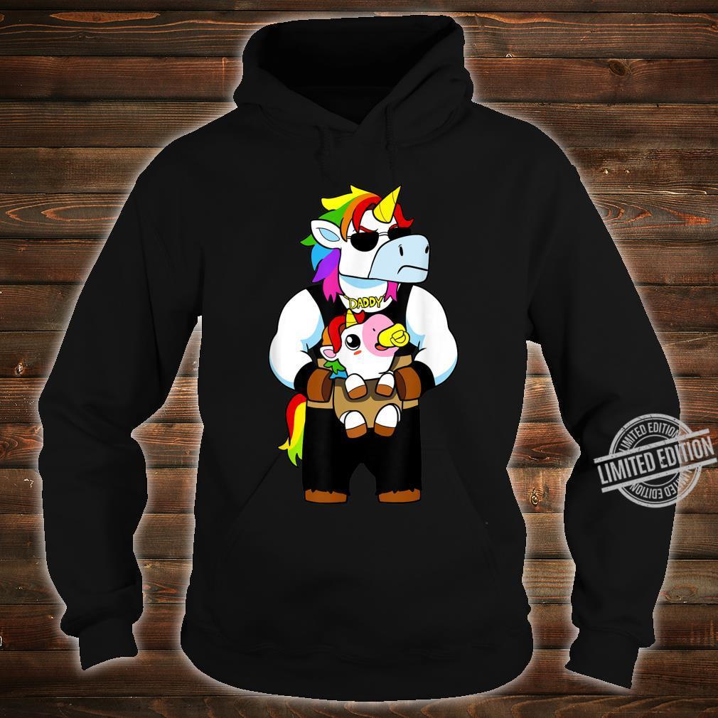 Daddy Corn Dadacorn Unicorn Dad And Baby Shirt hoodie