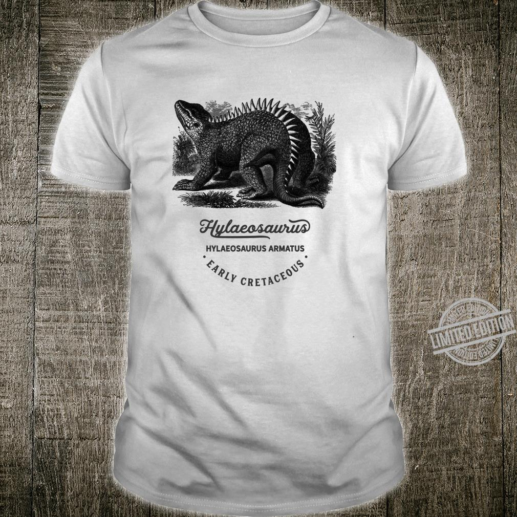 Dinosaurier Hylaeosaurus Vintage Design Tiere Geburtstag Fun Langarmshirt Shirt
