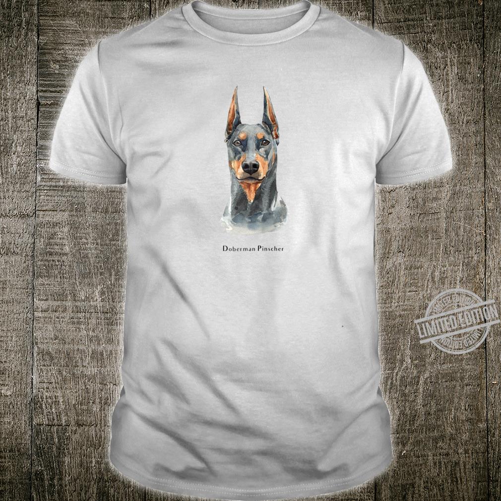 Doberman Pinscher Smooth Dog Shirt