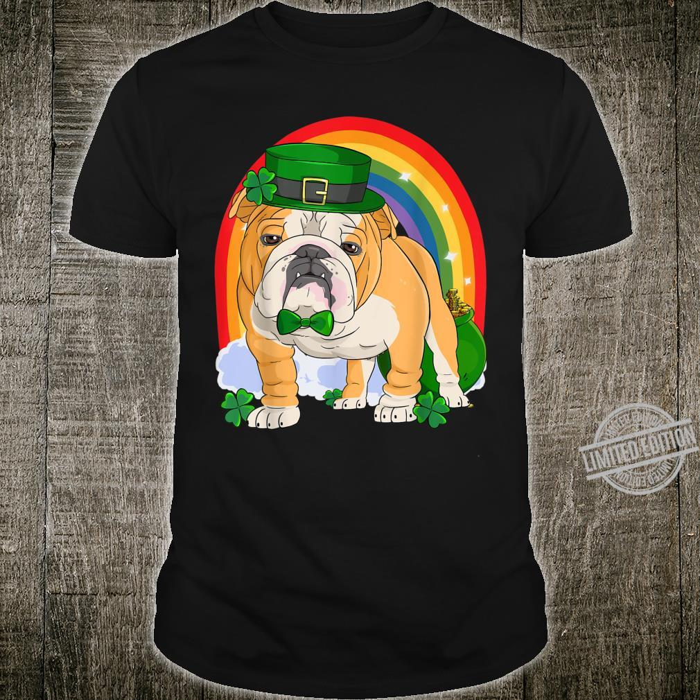 English Bulldog Lucky Leprechaun Dog St. Patricks Day Shirt