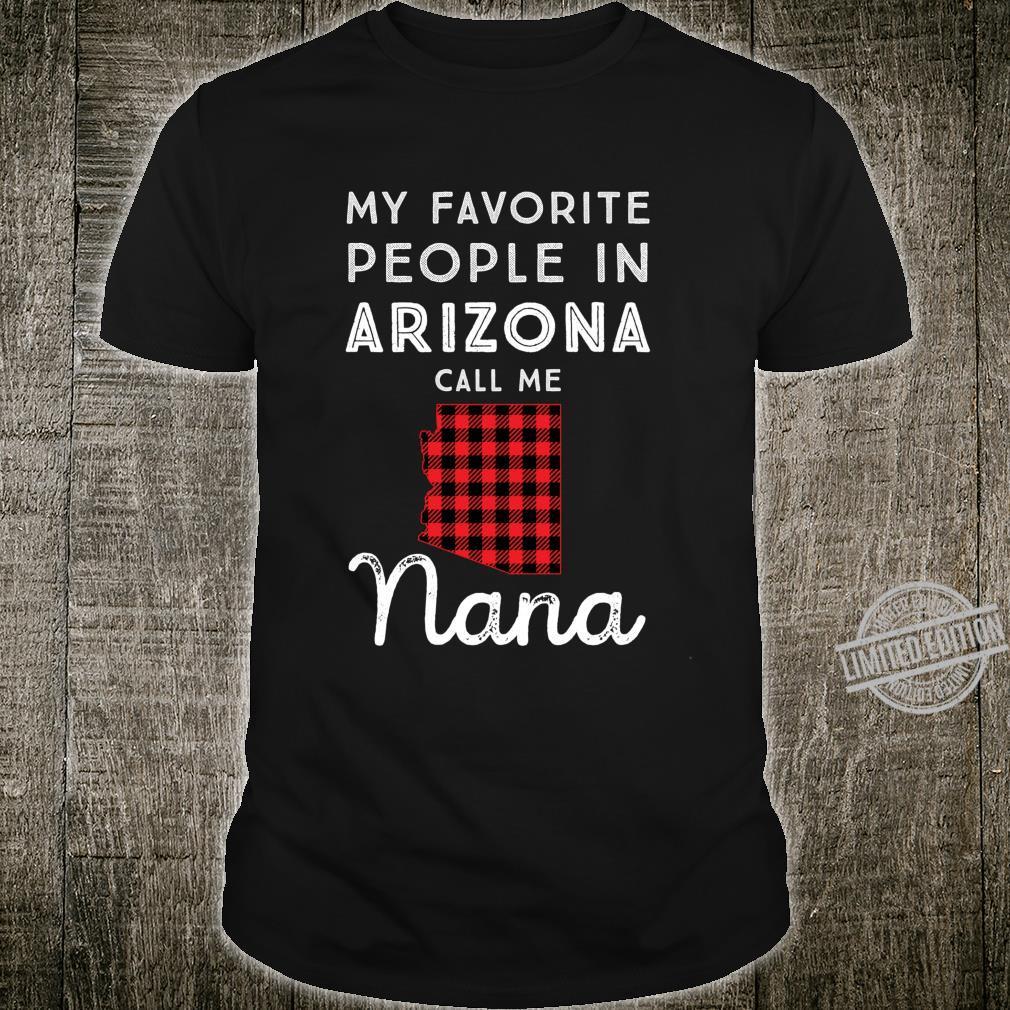 Family Matching Mom Nana Grandma Buffalo Plaid Arizona Shirt