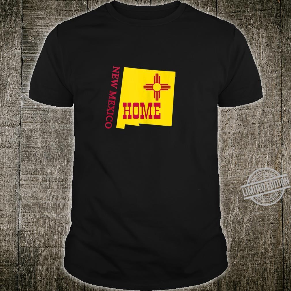 Flag of New Mexico Art NM Home Souvenir State Pride Shirt