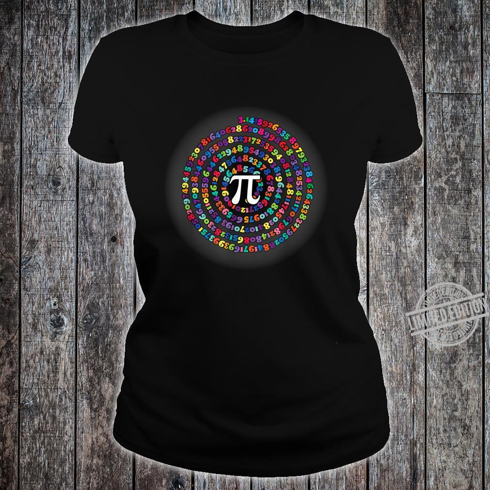 Funny Pi Day Math for teachers, Nerds, Geeks and Pi Day Shirt ladies tee