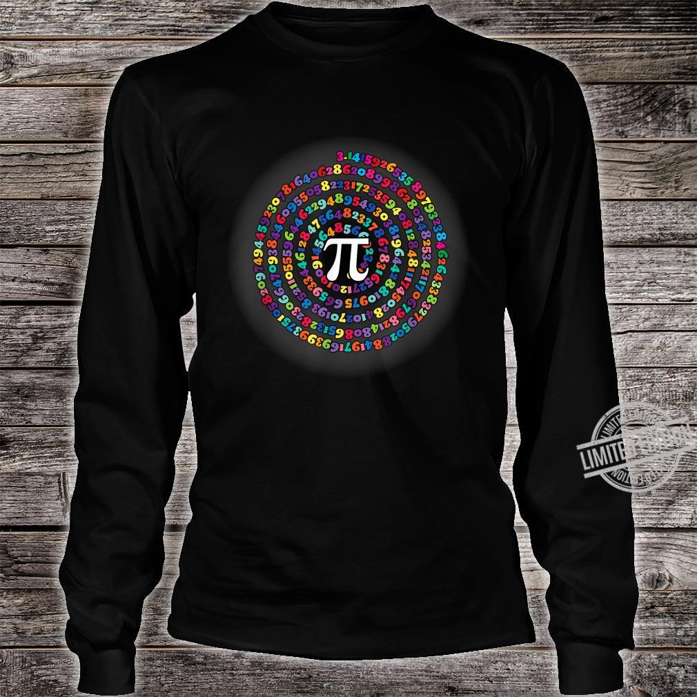 Funny Pi Day Math for teachers, Nerds, Geeks and Pi Day Shirt long sleeved