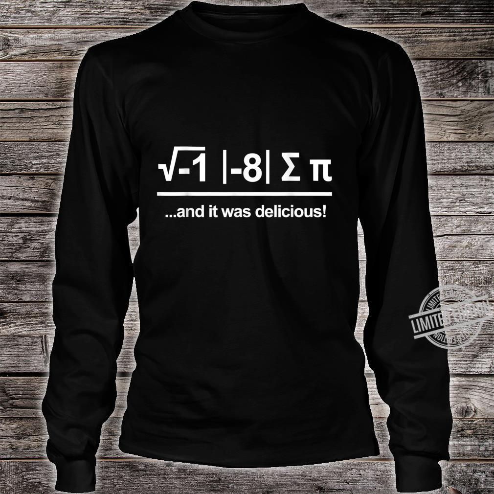 Funny Scientist Physicist Equation Science Physics Shirt long sleeved