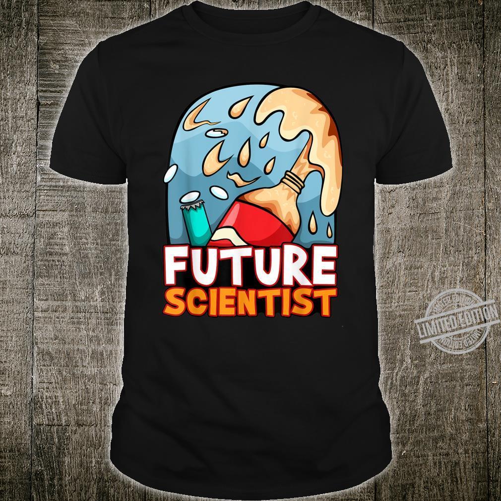 Future Scientist Fuzzy Scientific Experiment Primary Teacher Shirt