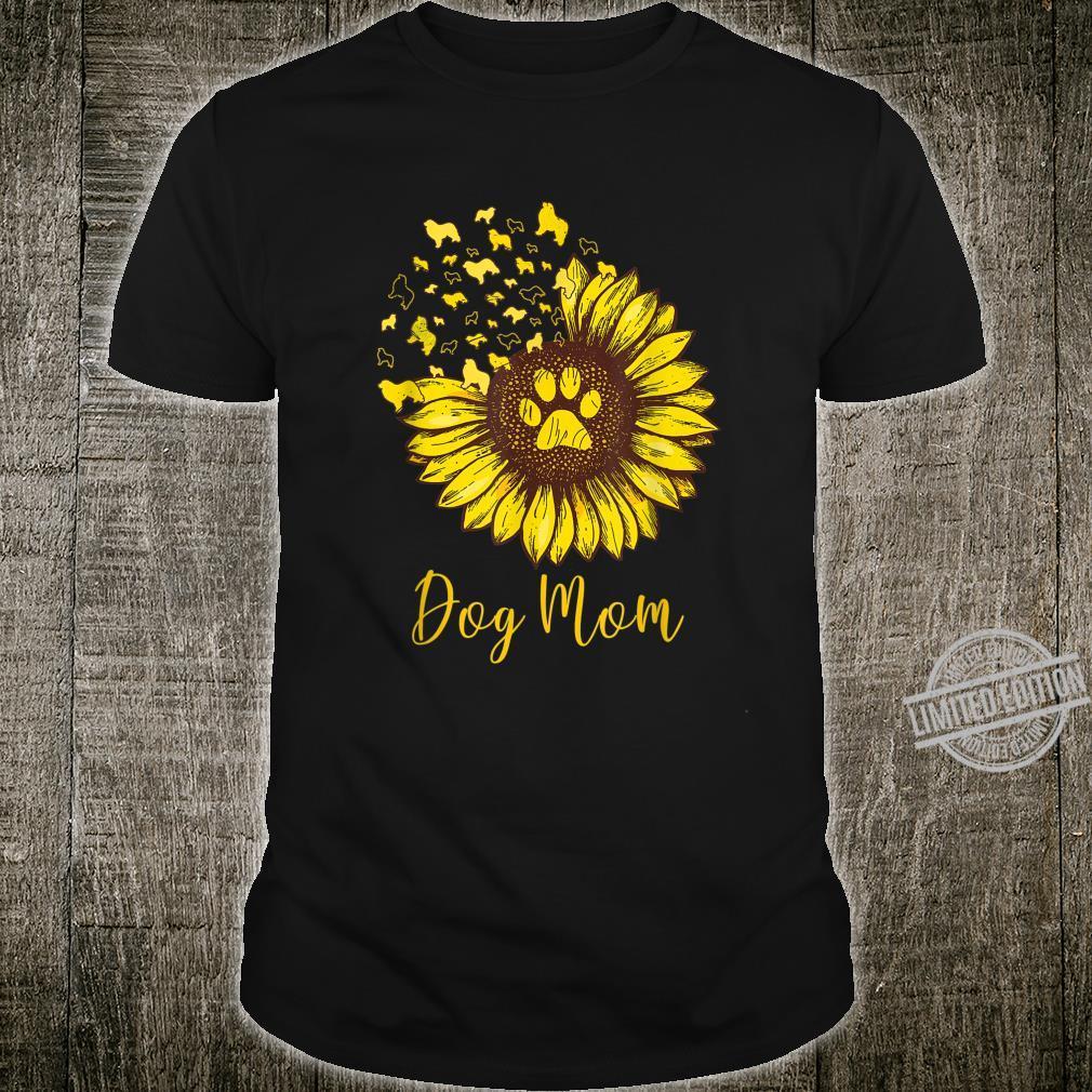 Great Pyrenees Sunflower Dog Mom Shirt