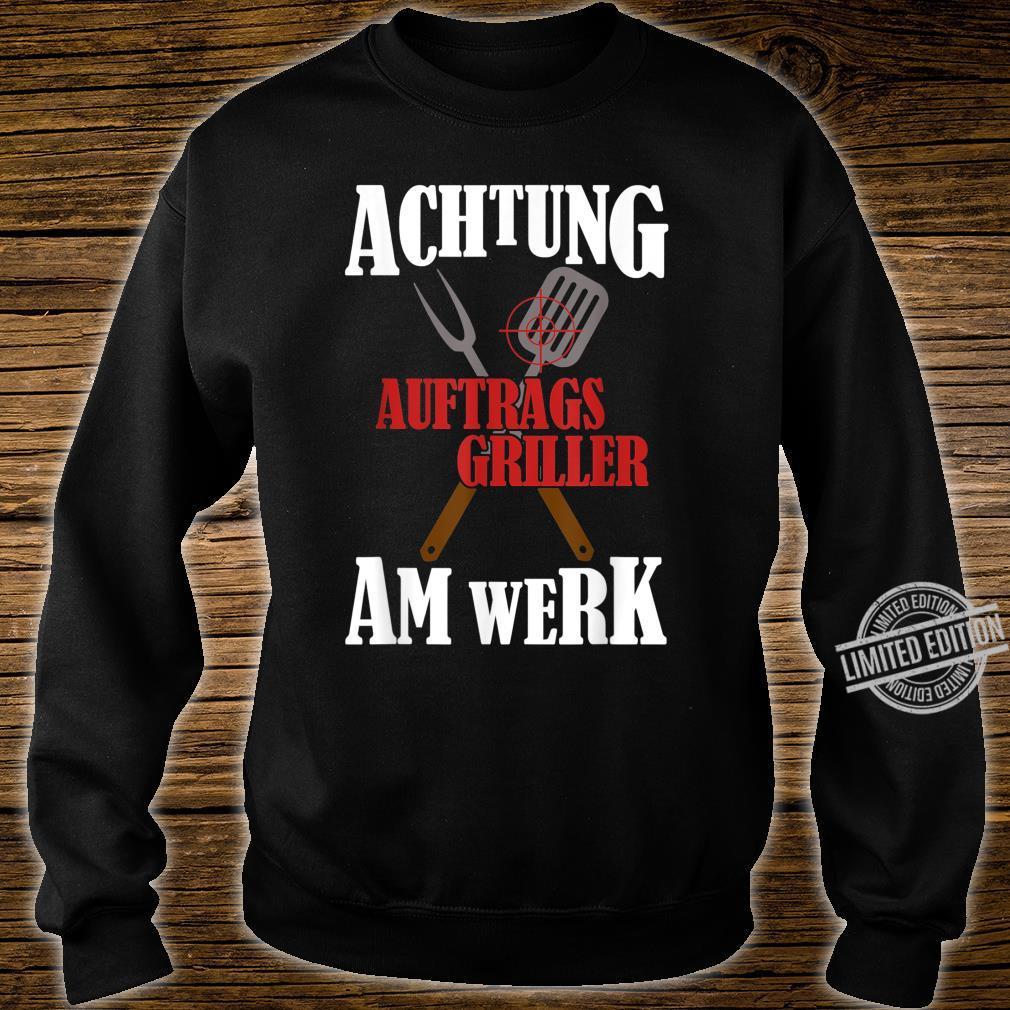 Grillchef, Papa Grillt, Bin Am Grillen, BBQ Grillmeister Shirt sweater