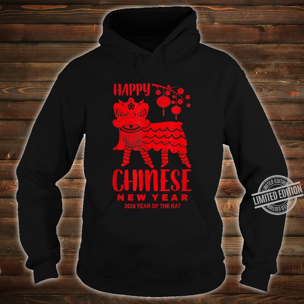Happy Chinese New Year Lion Year Of The Rat 2020 Shirt hoodie