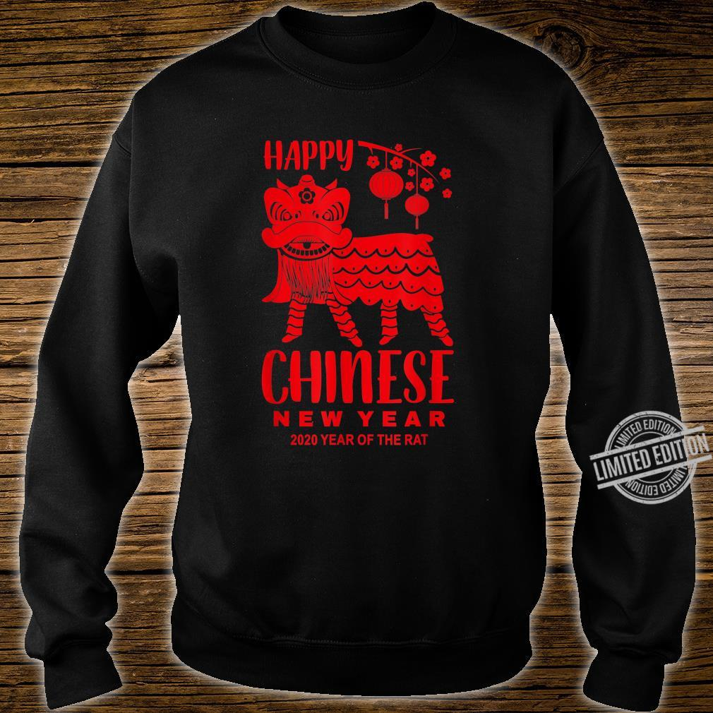 Happy Chinese New Year Lion Year Of The Rat 2020 Shirt sweater