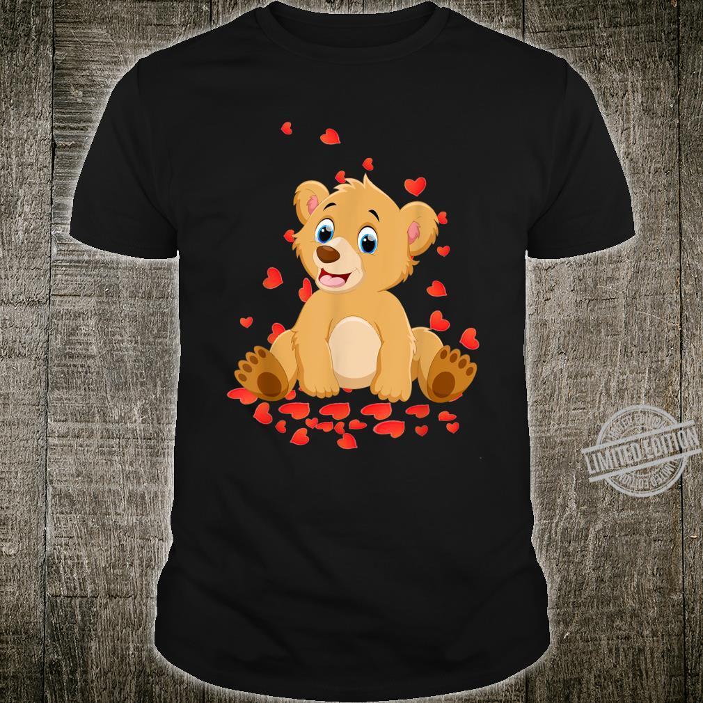 I Love My Bear Valentine's Day Shirt