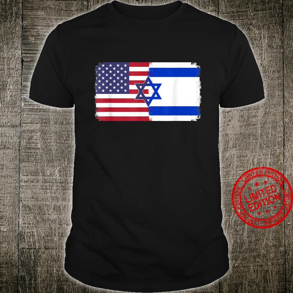 Israel USA flag Shirt