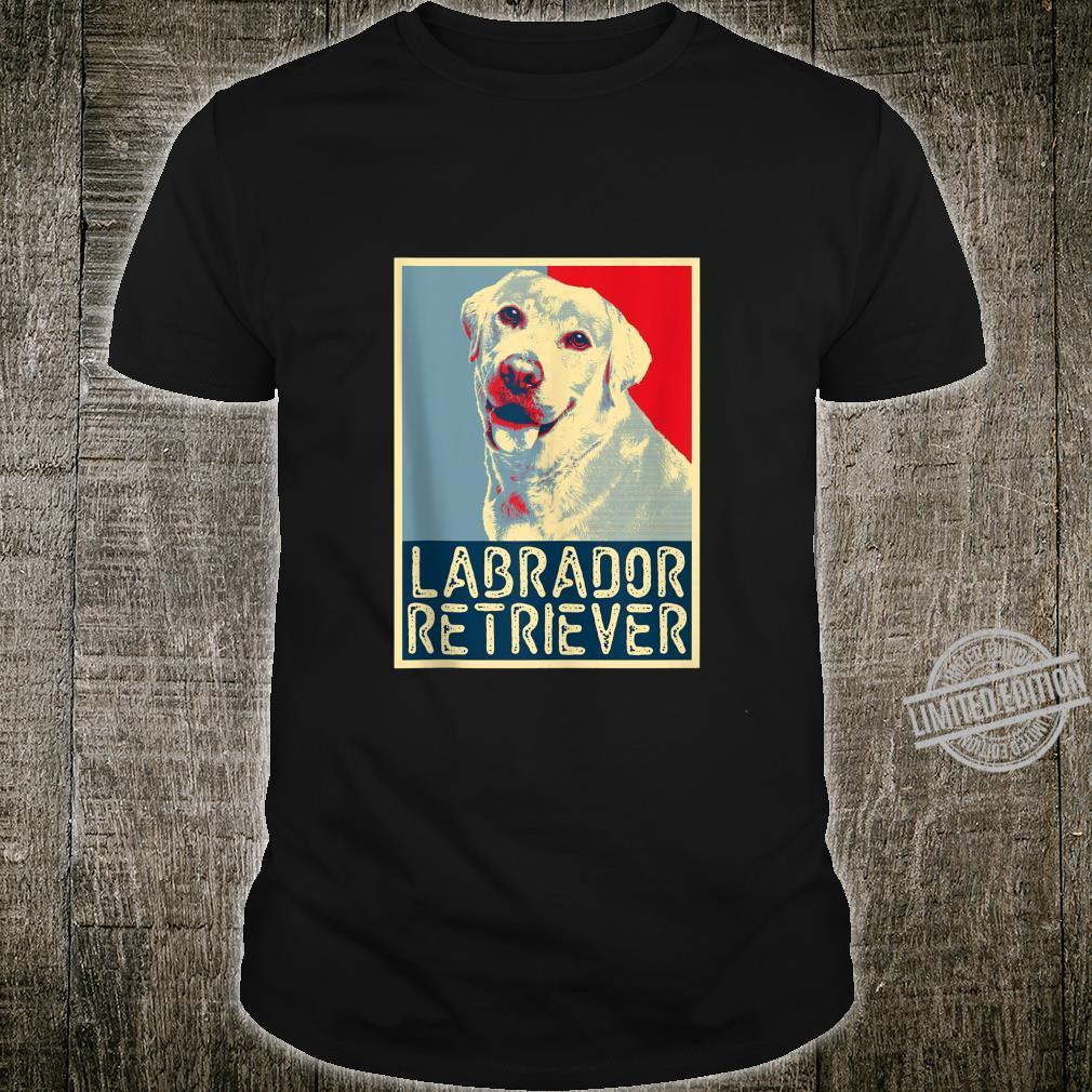 Labrador Retriever Retro Style PopArt Dog Shirt