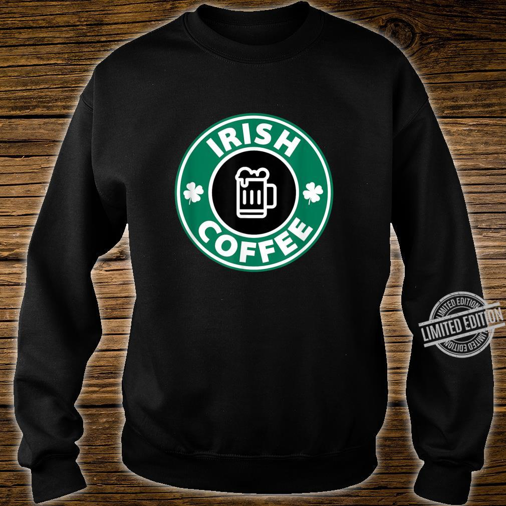 Lucky Irish Coffee Cute Novelty Shirt sweater