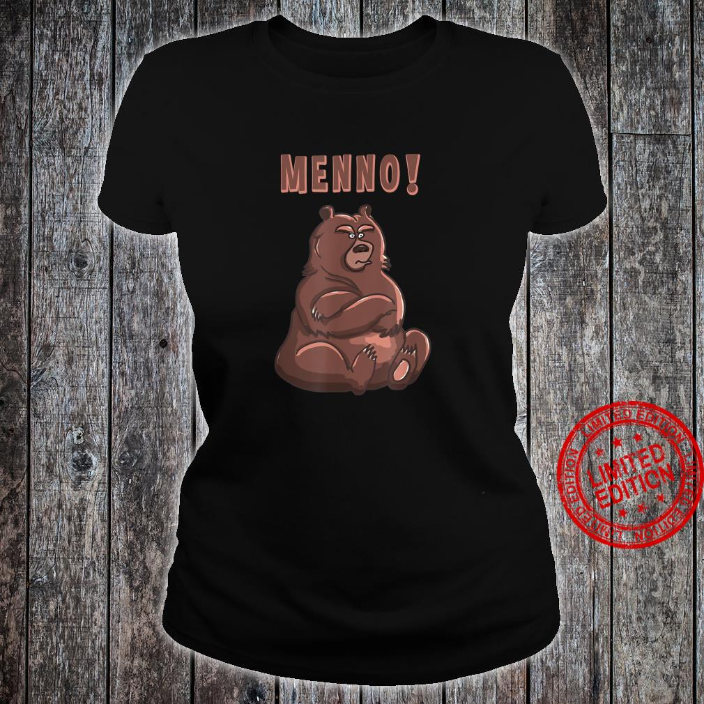 Menno Beleidigter Bär Shirt ladies tee