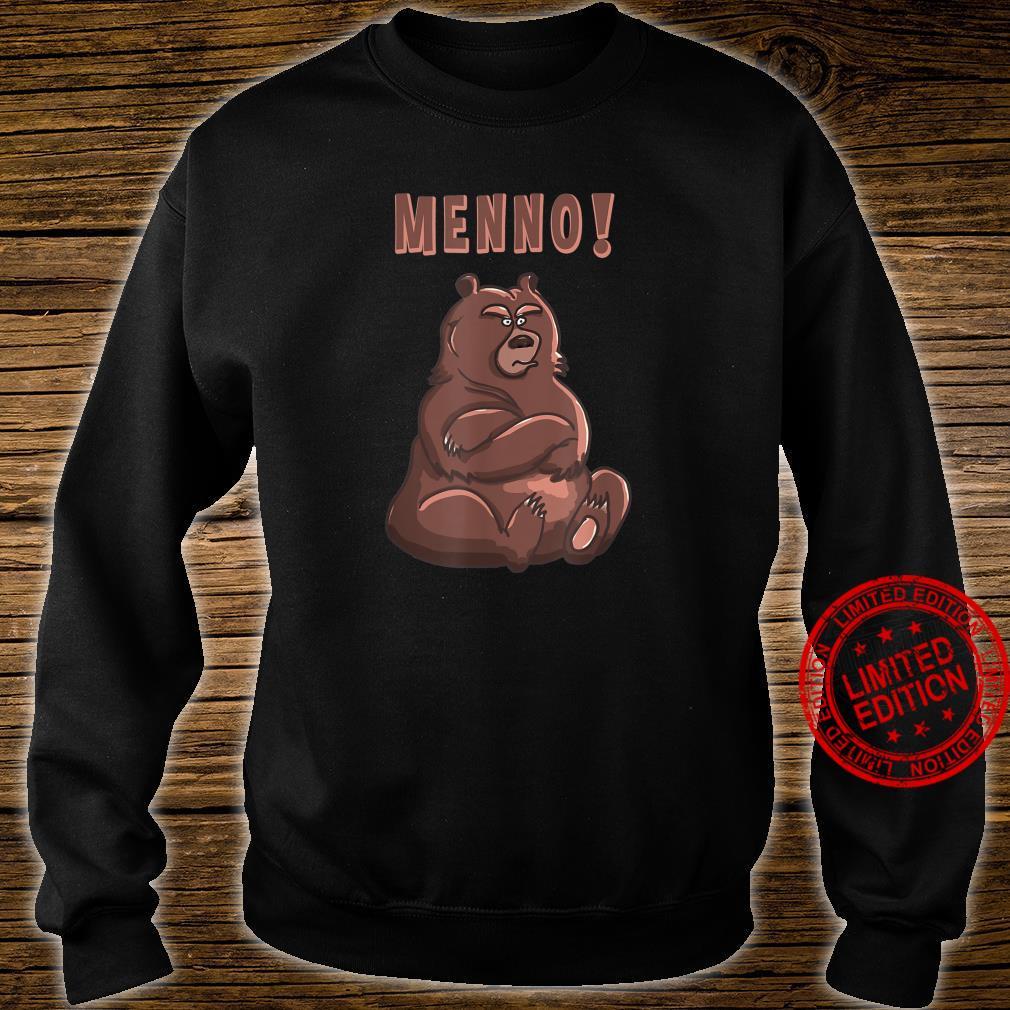 Menno Beleidigter Bär Shirt sweater
