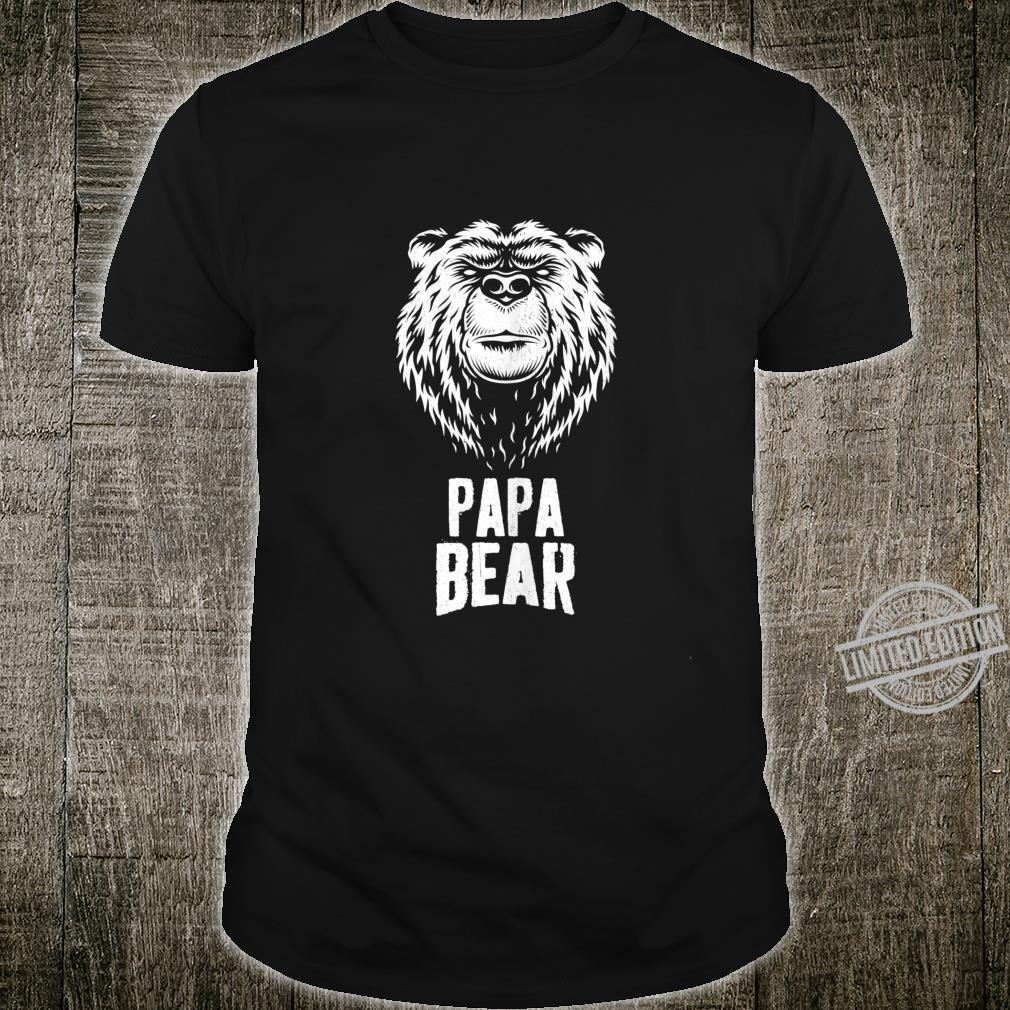 Mens Papa Bear Shirt Matching Fathers Day Shirt