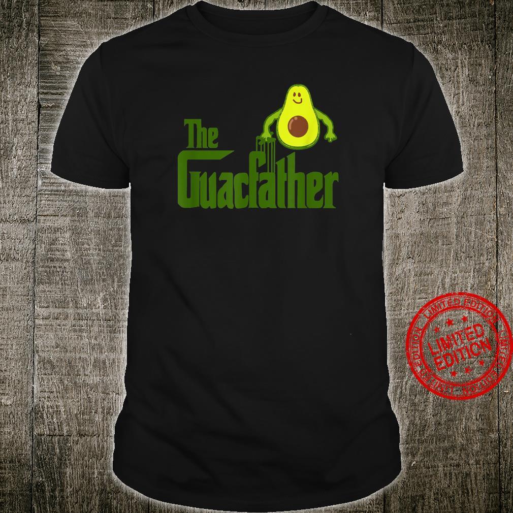 Mens The Guac Father Guacamole Avocado Shirt