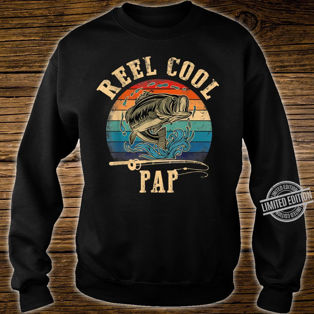 Mens Vintage Reel Cool Pap Fish Fishing Shirt Father's Day Shirt sweater