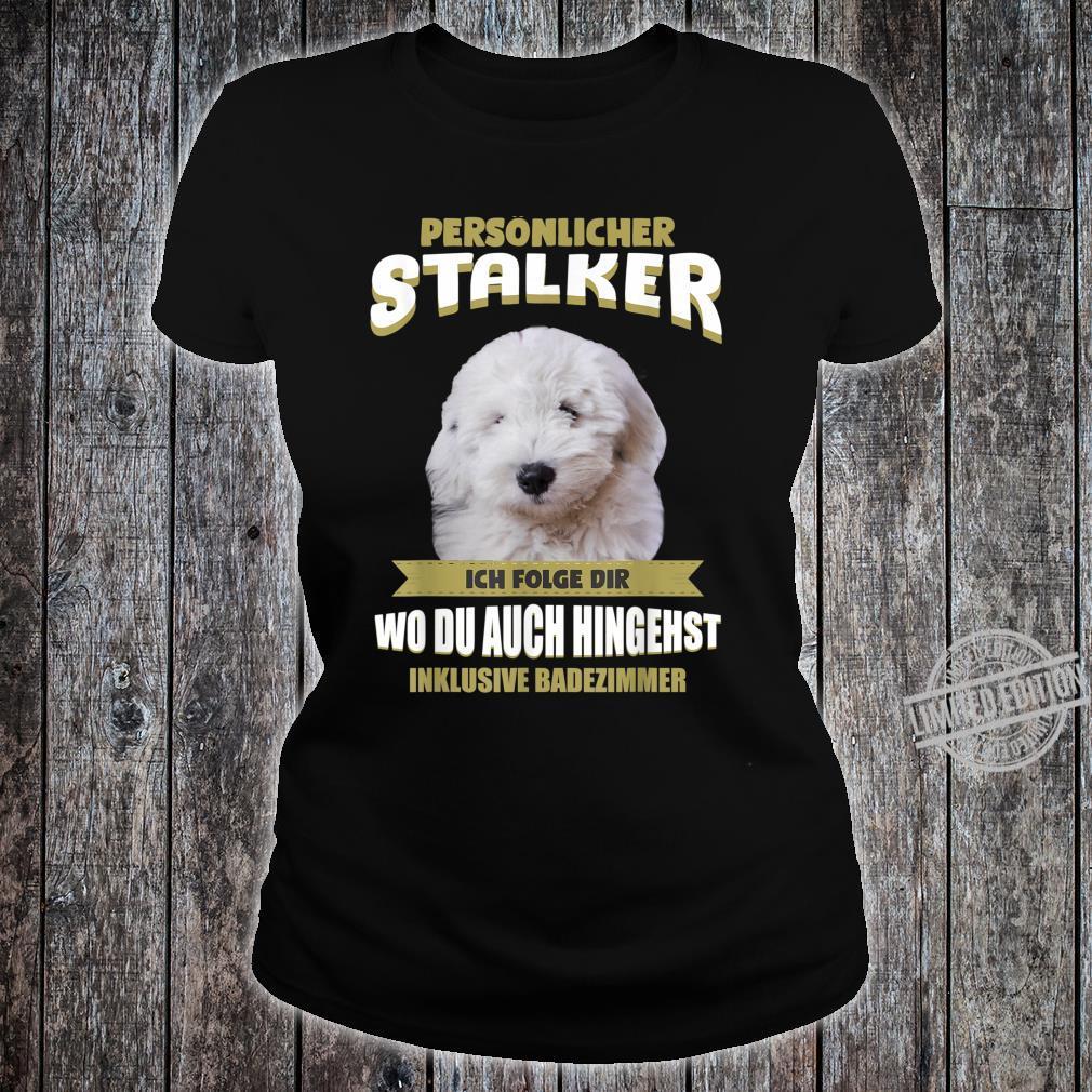 Old English Sheepdog Bobtail Dog Shirt ladies tee