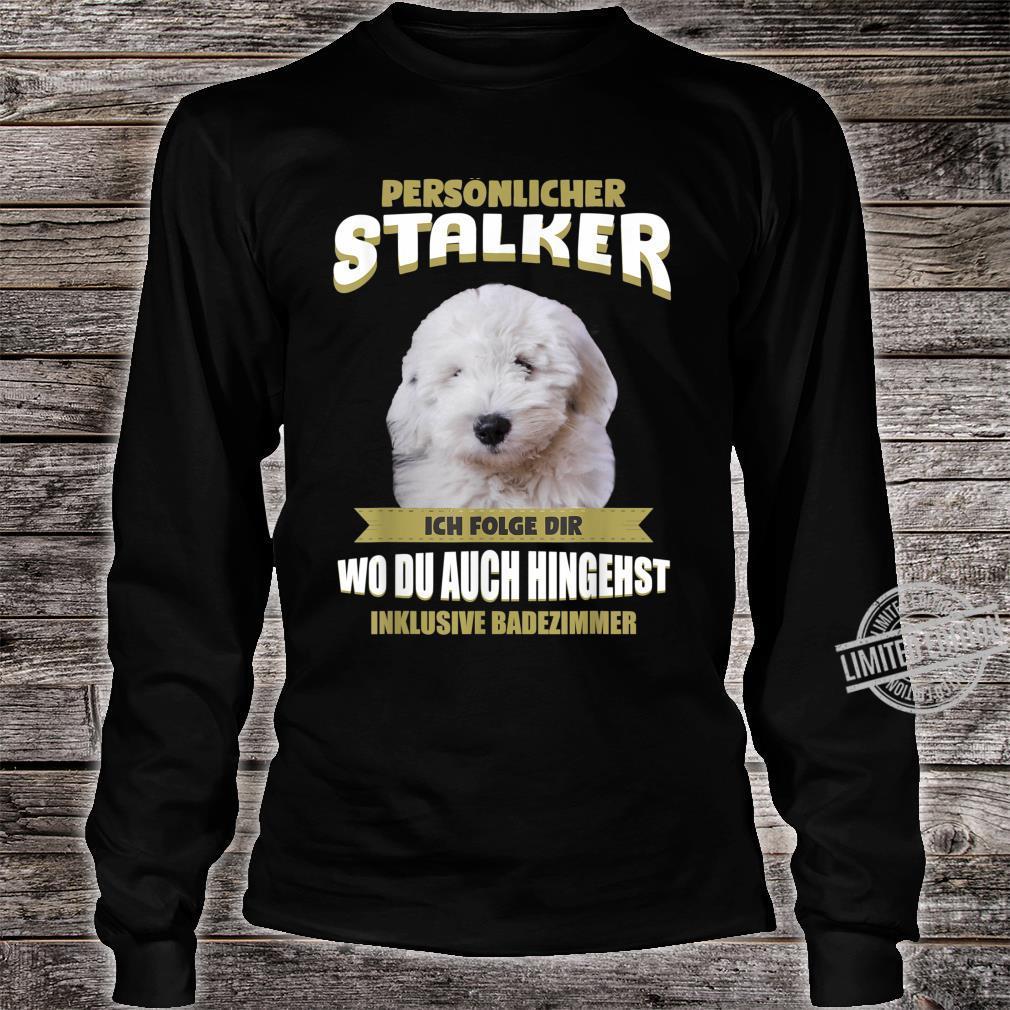 Old English Sheepdog Bobtail Dog Shirt long sleeved