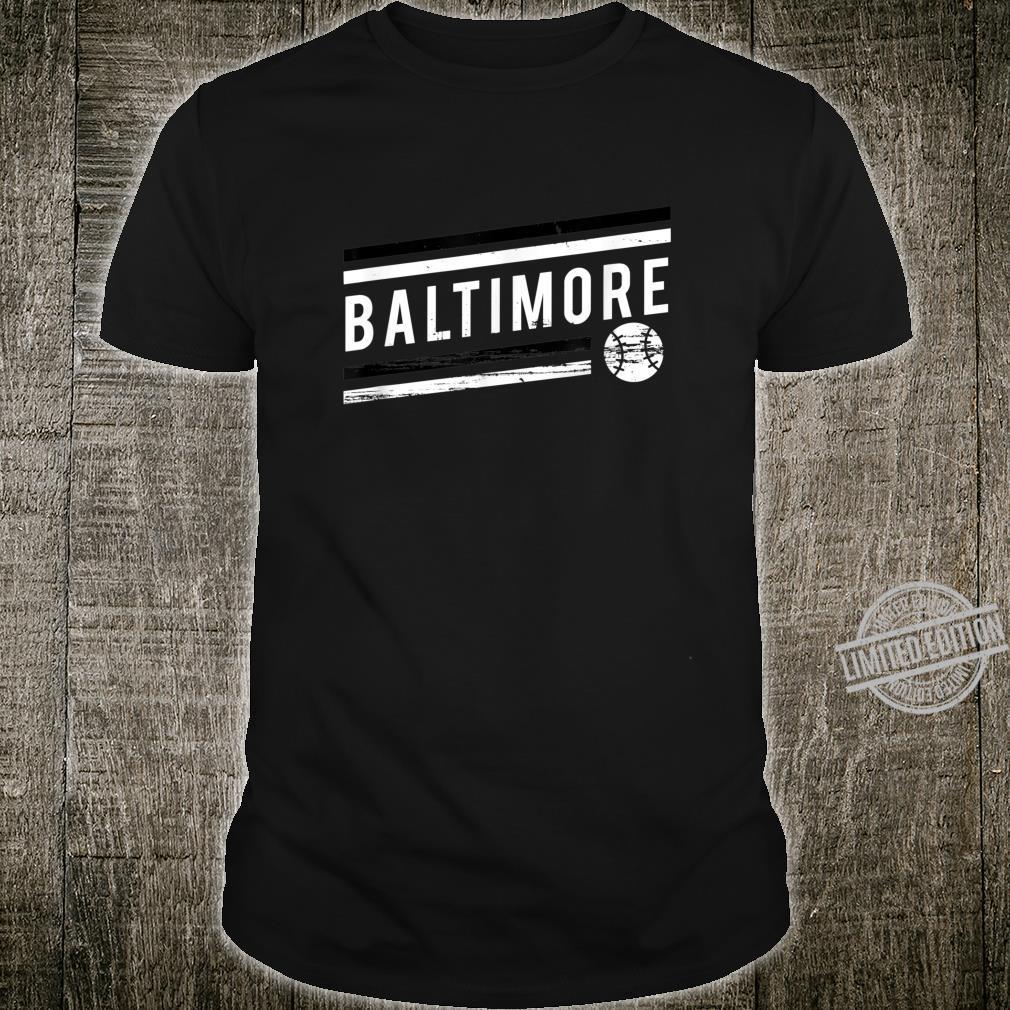 Retro Baltimore Fan Souvenir Shirt